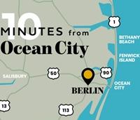 Berlin Area Map